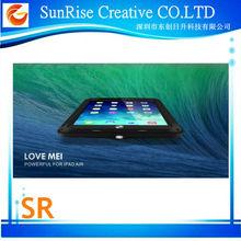LOVE MEI Waterproof Protective Shockproof Case for iPad Air LOVE MEI Powerful Metal Case for iPad Air