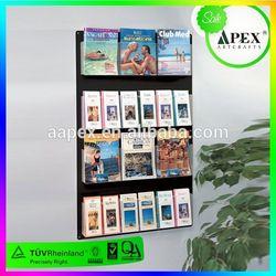 Good Quality Used Acrylic Magazine Racks 2014 Wholesale
