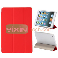 Top quality fold stand pc+pu leather case for iPad Mini 2