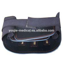 neoprene leather Back Brace with abdominal belt