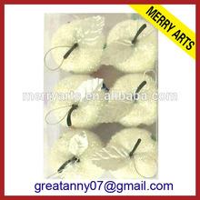 Surtidor de China caliente de la nueva navidad artesanía delicado para imprimir bolas de espuma de poliestireno con de apple en forma de