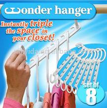 2014 new item Closet Space Saving Wonder Hanger