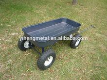 Kids metal wagon cart with texture powder coating finish TC4241