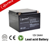 ups battery, 12v 24ah ,high rate capacity