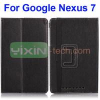 New Design Flip Stand Smart Case For Google Nexus 7 Leather Case