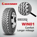 China de alta calidad todos los radiales de acero del neumático de camión,