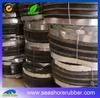 steel side swelling rubber waterstop for concrete joint