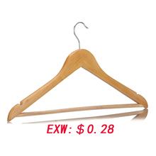 2014 ultramodern wholesale sale logical standard cheap wooden hanger on sale