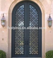 Elegant Front Main Entrance Double Doors Design FD-348