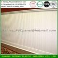 de plástico materiales de construcción decorativa friso pvc panel de pared