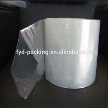 PVC/OPP shrink Plastic film printed transparent bags