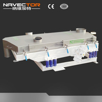 Electric vibrator motor for industrial sieve