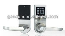 high quality stainless steel password + mechanical key hotel door lock
