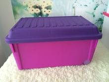 Plastic travel storage container