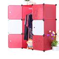 De la pared- montado en pp compacto los organizadores del armario en la mezcla de colorsfh- al00615- 6