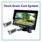 Waterproof IR Digital Color CCD Camera Blind Spot Assist 7inch Grain Cart System