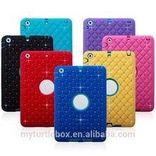 Jewel Diamond Pattern Back Cover Skin Case For iPad mini2 mini 2