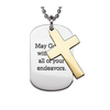 Metal Dog Tag With Ball Chain MJP-0658