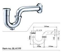 Brass Bottle Trap(BL-A199)