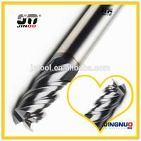 JINOO High Performance end mill cnc tungsten solid carbide dental end mills