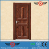 JK-MW9075 vintage style wooden front door prices with hardware for room