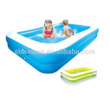 Custom Pvc Inflatable Swim Center Family Pool