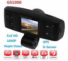 "HD1080P 1.5"" LCD Night Vision Car Dash Camera GPS HDMI G-sensor CE FCC Dashboard Video Recorder"