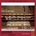 Magasin de chaussures en chine/présentoirs de magasin de chaussures/magasin de chaussures design