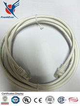 CAT3 telephone cable 4p4c 6p2c 6p4c with RJ11 connector