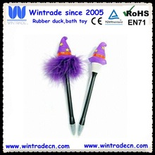 Halloween pen gift led witch toy pen