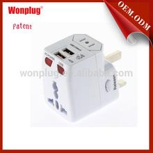 2014 Wonplug patent 5v 2.1a usb OEM/ODM elegant best gift for business partner