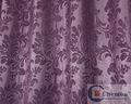 中国の豪華なヨーロピアンスタイルの美術工芸品のシャワーカーテン窓のカーテン