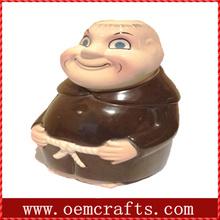 Smiling bald guy custom wholesale mini wine bottles