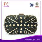 2014 wholesale fashion ladies shoulder style rivet evening handle clutch purse bags online shopping