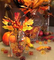 decorative pumpkin acrylic stone