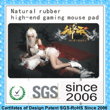 Natural rubber animals mouse pad girl sex mouse mats gaming mouse pads