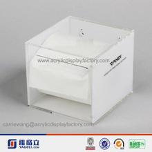 Di seta bianca- schermo il più popolare tovagliolo acrilico& scatola del tessuto