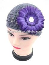Fashionable Soft&Lovely kufi crochet hat