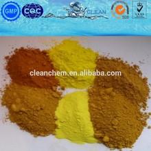yellow iron oxide for coatings