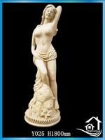 Unique nude woman statues