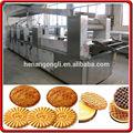 popular automática pequena escala de biscoito duro dá forma à máquina