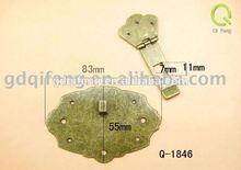 2012 fashion new design bag lock Q-1846