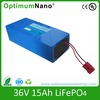 Lifepo4 batteries rechargeable battery 36v
