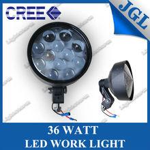 12v 24v car driving light forklift work 36w heavy-duty led light HID light for mercedes benz