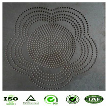 perforated Weave Style and Perforated Mesh Type micro perforated metal