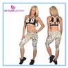 nylon/spandex dry fit womens gym wear, sport wear, fitness wear, active wear