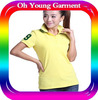 Ladies 2014 top quality fashion women polo shirts wholesale price t shirt polo new design