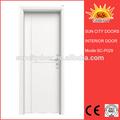 Preço barato venda quente de alta qualidade pvc revestido porta de madeira