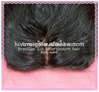 Wholesale 100% unprocessed hair closure brazilian hair piece