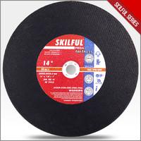 14 inch metal abrasive cutting disk 3.0mm 70m/s in EN12413 MPA certification